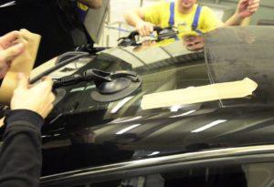 замена заднего стекла авто