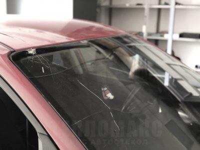замена лобового стекла до