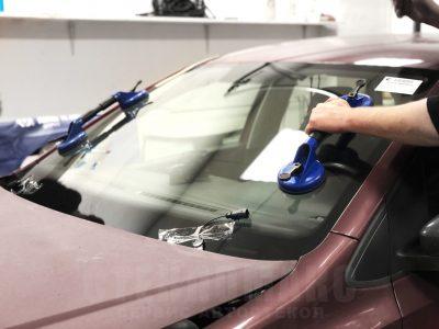 замена лобового стекла после